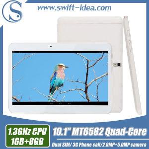 3G Calling 10.1 Inch Mtk6582 Quad Core 1GB RAM High Configuration Tablet PC (PMQ1035T)