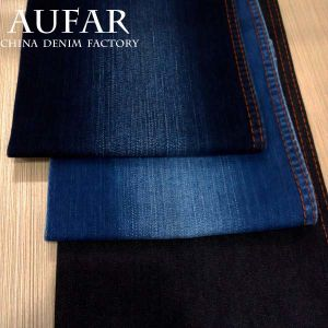 3533b24A Blue Woven Cotton Denim Fabric Clothing Fabric