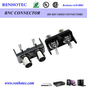 Right Angle BNC Female Connector Plastic Housing Connector pictures & photos