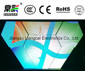 Irregular Full Color LED Sign for Stage Event