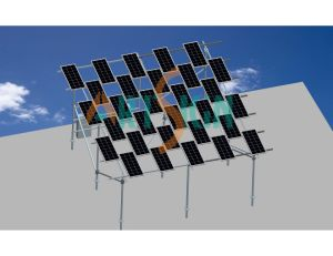 Photovoltaic Solar Farm Ground Solar Panel Mounting System pictures & photos