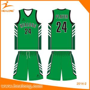 Healong Hot-Sale Custom Digital Printing Basketball Uniform for Team Club pictures & photos