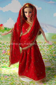 muslim doll in wedding dress pictures & photos