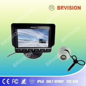 Car Rear View System/7inch Monitor and Mini Dome Camera pictures & photos