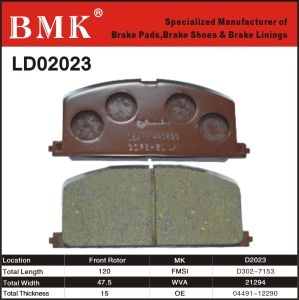 Adanced Quality Brake Pad (D2023) pictures & photos
