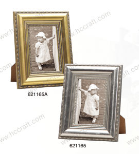Gesso Wooden Frame with Foil pictures & photos