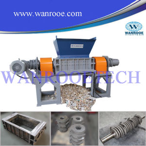 Hard Plastic Waste Single Shaft Shredder pictures & photos
