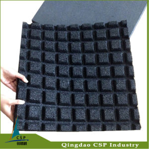 Shockproof Rubber Floor Mat, Rubber Tile, Rubber Tile for Gym pictures & photos