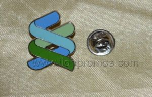 Standard Chartered Bank Logo Custom Shape Zinc Alloy Lapel Pin pictures & photos