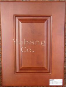 Solid Wood Kitchen Cabinet Door (#WD2012-48) pictures & photos