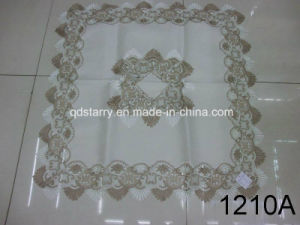 Two Tone Lace Table Clothes 1210A pictures & photos