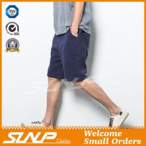Men′s Woven Linen/Cotton Shorts Pant