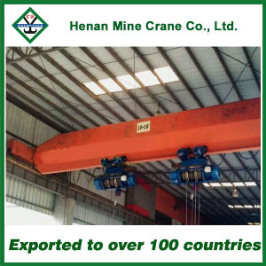 Utility Pole Crane with Two Hoist Single Girder Overhead Crane Lifting pictures & photos