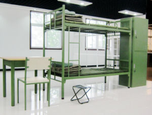 metal military school domitary furniture Bunk Bed for Army pictures & photos