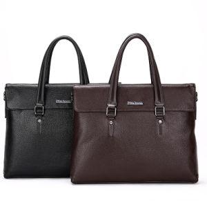 Direct Factory Genuine Leather Busiess Man Handbag&Shoulderbag
