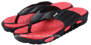 EVA Injection Beach Footwear Flip Flop Shoes Slippers (815-6199) pictures & photos