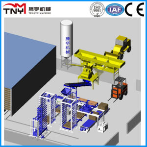 Fully Automatic Production Line Open Type (QT12-15/QT10-15/QT9-15) pictures & photos