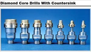 Diamond Core Drills Wih Countersink pictures & photos