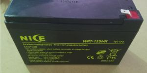 12V 7ah Sealed Lead Acid Maintenance Free UPS Solar Battery pictures & photos