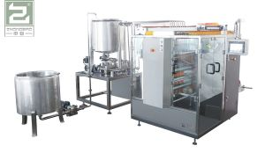 Food Honey Four-Side Sealing and Multi-Line Packing Machine pictures & photos