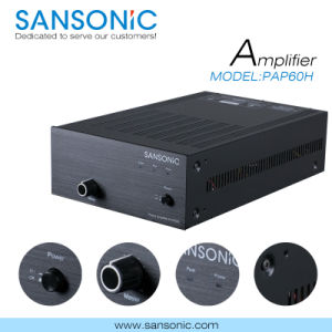 PRO Audio Amplifier for Commercial Public Address (PAP60H)
