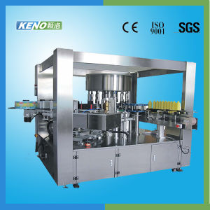 Full Automatic Hot Melt Glue Labeling Machine (KENO-L218) pictures & photos