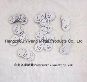 Customized ABS Double Color Board Carving pictures & photos
