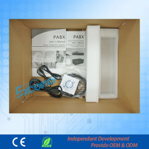 Pabx Hybird Telephone System 1-4 GSM Wireless Metal Pabx Tp832 -416 pictures & photos