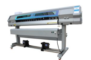 Audley S7000-5 Digital Double Dx5 Head 1.9m Best Inkjet Eco Solvent Printer pictures & photos