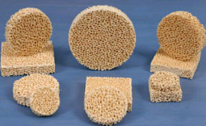 Zirconia/Zro2/Zirconium Oxide Porous Ceramic Foam Filter pictures & photos