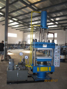 Four Station Hydraulic Curing Press Machine pictures & photos