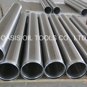 All-Welded Stainless Steel Wedge Wire Screens with Beveled Welding Ring