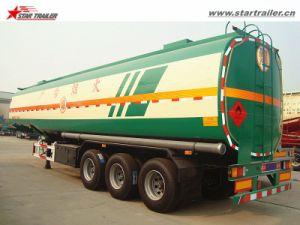 3axles Carbon Steel Semi Petrol /Diesel Tank Trailer pictures & photos