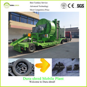 Dura-Shred Hot Sale Scrap Tyre Recycling Machine (TSD832) pictures & photos