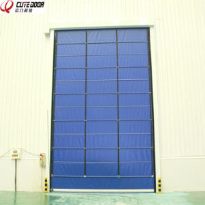 High Quality Stacking High Speed Door with Wind-Resistant pictures & photos