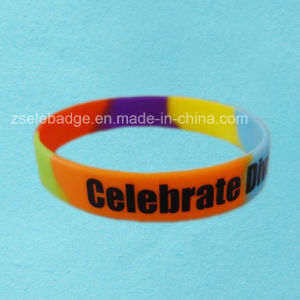 Camouflage Silicone Bracelets (Ele-WS011) pictures & photos
