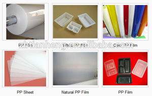 Milky White Cup Lids HIPS Plastic Film pictures & photos