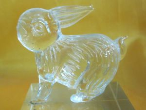 Crystal Animal Model Crystal Rabbit as Crystal Wedding Gifts pictures & photos