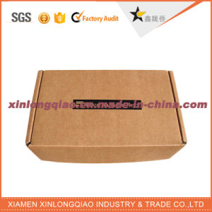 Custom Color Printed E Flute Corrugated Box for Packaging pictures & photos