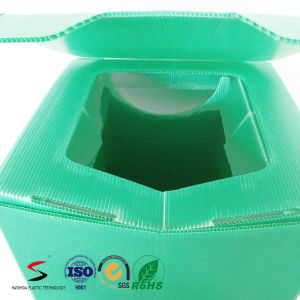 Antimicrobial Corrugated Plastic Toilet for Disaster pictures & photos