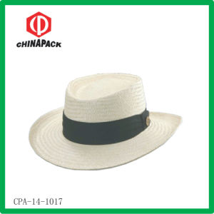 Straw Men Bucket Gambler Hats (CPA-14-1017) pictures & photos