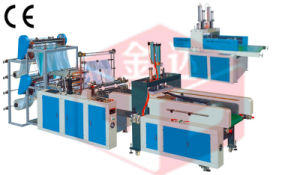 Automatic Puching T-Shirt Bag Making Machine (GBD-E-500-600-700) pictures & photos