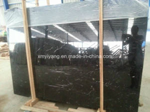 Black / Nero Marquina, Portor Brown, Black & Coffee Marble Slabs pictures & photos