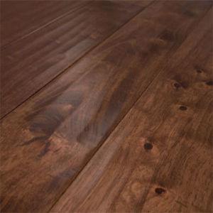 Foshan Low Price Waterproof Handscraped Oak Parquet Hardwood Flooring pictures & photos