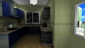 Modern Stainless Steel Kitchen Furniture (MK038)