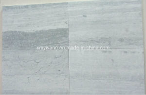 Blue Wood Grainy Marble Stone Tiles for Wall, Flooring pictures & photos