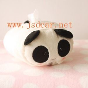 Plush Panda Cartoon Series Car Tissue Box (JSD-P0011) pictures & photos