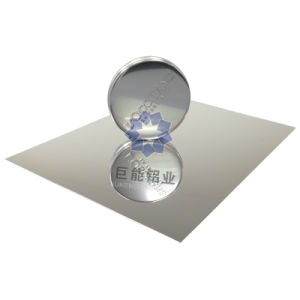 Raw Mirror Aluminium Sheet for Lighting / Nameplate/ Decoration/ (R6300)