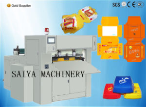 Automatic Creasing Die Cut Bueger Box Machine