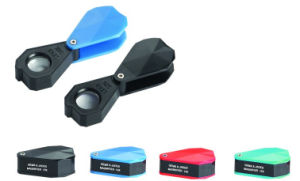 14X Folding Pocket Magnifier Jeweler′s Loupe pictures & photos